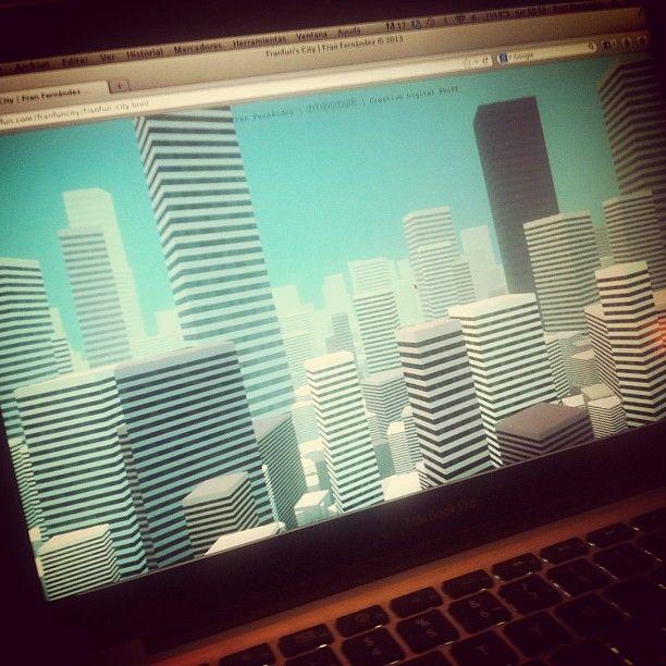 Because Code is Poetry. Javascript Experiment at http://franfun.com #Geek #Code #Art