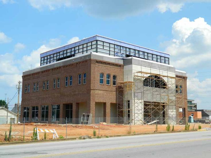 First Metro Bank constructs new building on Pine St ... First Metro Bank Muscle Shoals Bank Photos