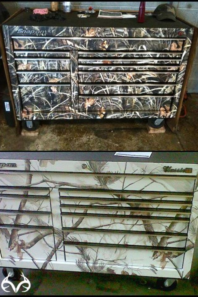 Camo tool box? Yes please! Hey if anybody wants to get me a Christmas present ;)