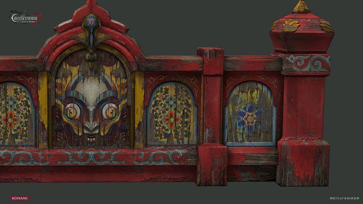 Toy Maker Bridge, Ana M. Rodriguez on ArtStation at https://www.artstation.com/artwork/mDk3Z