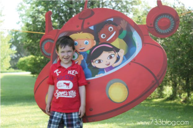 A Little Einsteins Birthday Party - seven thirty three