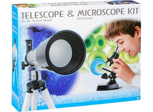 Kaukoputki ja mikroskooppi