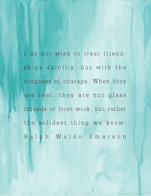 Raplh Waldo Emerson Quote from beauty for ashes