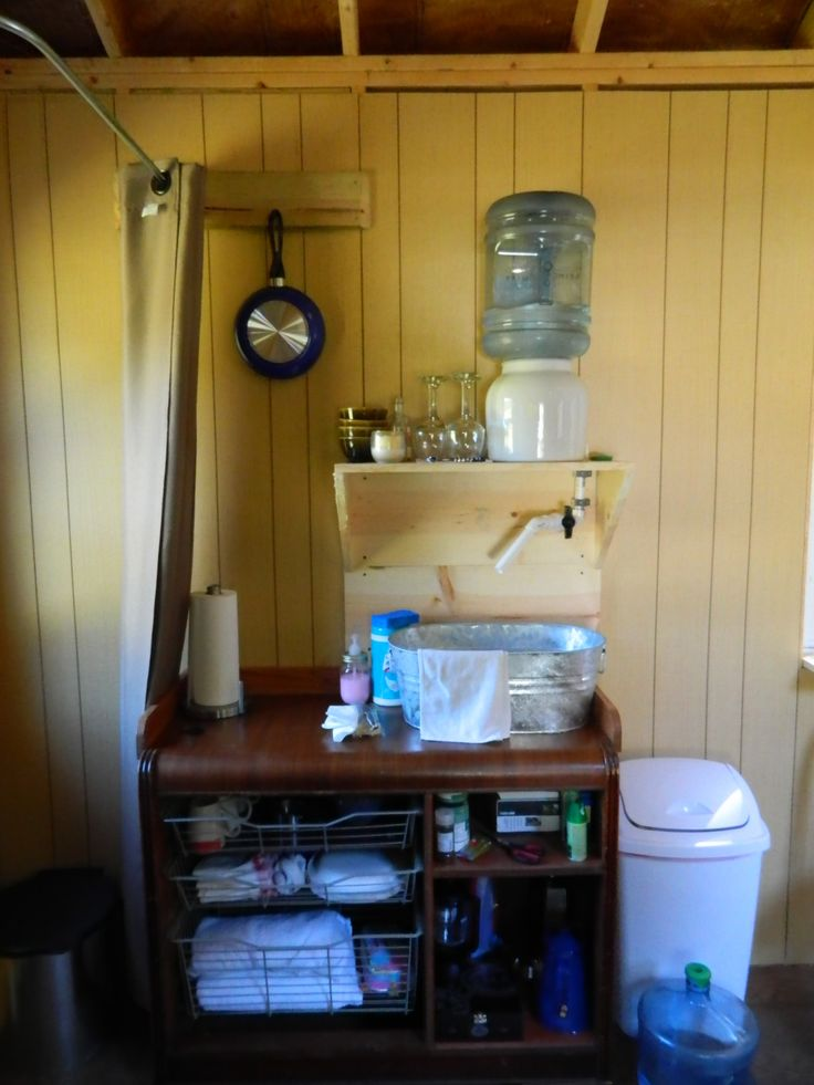 Sink No Running Water In Tiny House We Are Very