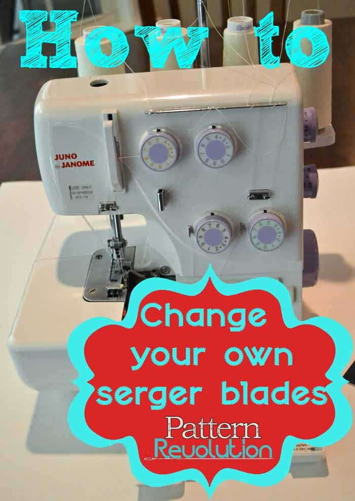 How To Change Your Own Serger Blades