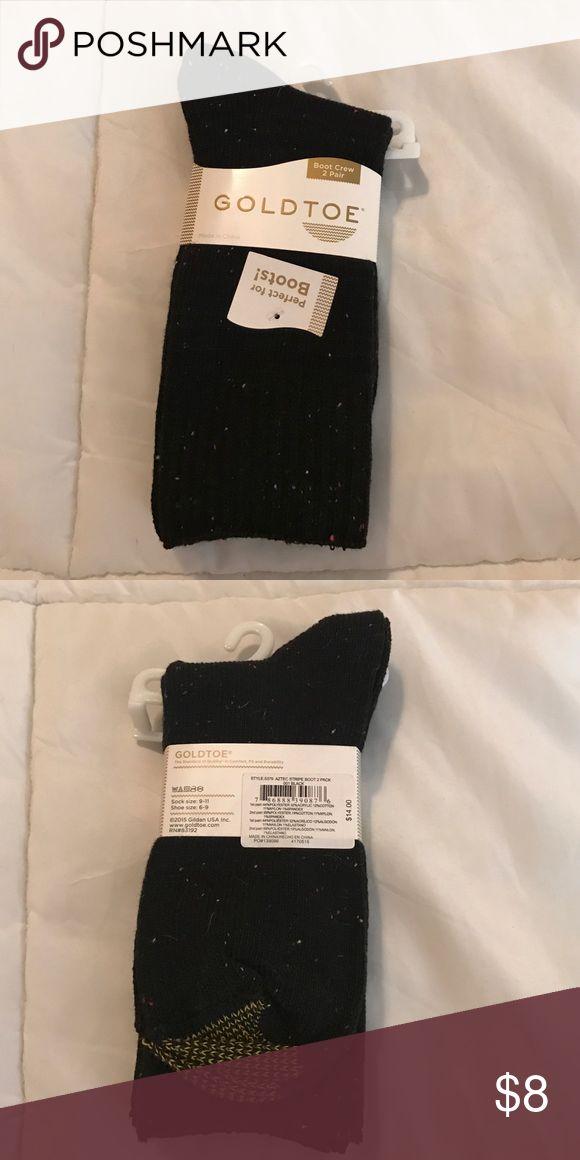 Gold Toe Socks Brand New Gold Toe Boot Crew Socks Gold Toe Other