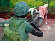 My Lai massacre memorial site, near Quảng Ngãi, Vietnam.