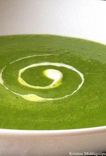 Kristins Middagstips: Grønn ertesuppe på 1-2-3
