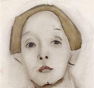 Helene Schjerfbeck, 'Self Portrait', 1915