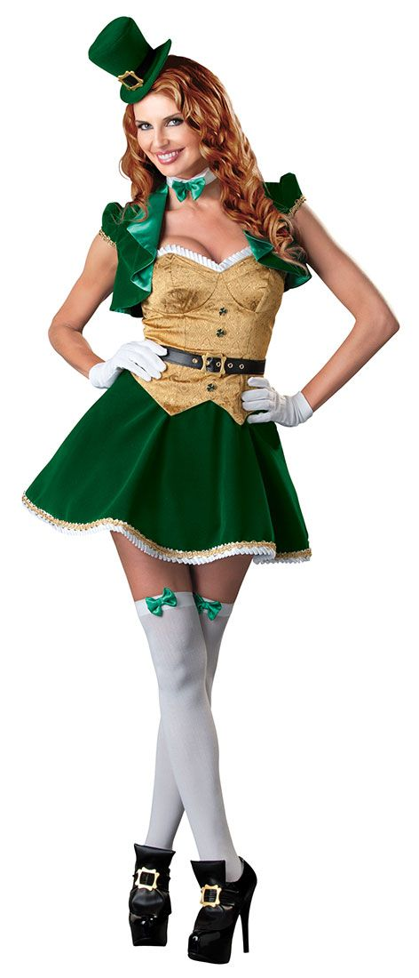 Lucky Irish Maid Sexy Costume | Costume Craze