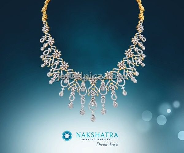 nakshatra jewellery divine luck gold and diamond set latest indian jewellery designs