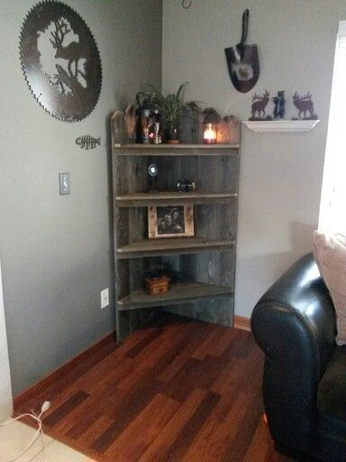 Made with old fence boards!