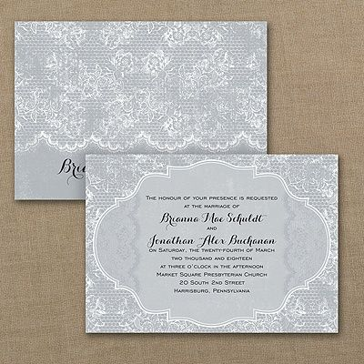 Rustic Lace   Invitation Even When Youu0027re Having A Rustic Wedding, Itu0027s  Still All About The Lace. This Lace Design Wedding Invitation Printed In  Your Choice ...