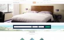 Hotelia - Premium #WordPress Theme with clean, elegant, #responsive #design and a complete set of advanced features to power your hotel's #website.