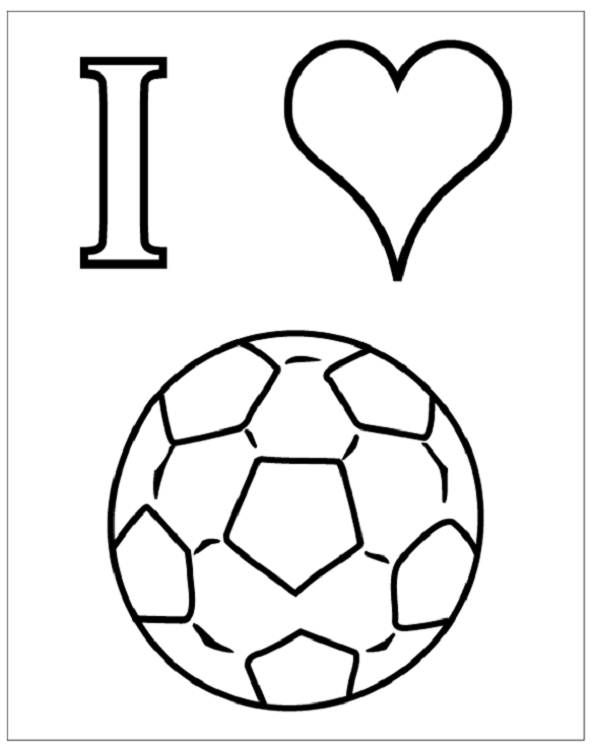 Fifa World Cup Ball Coloring Pages