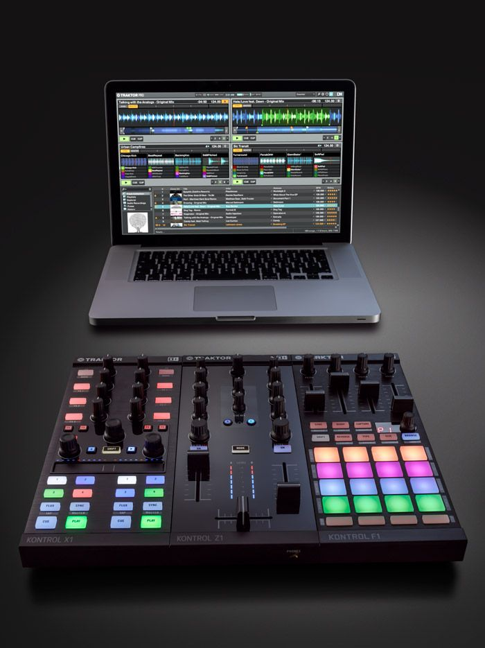 The perfect, portable TRAKTOR KONTROL rig