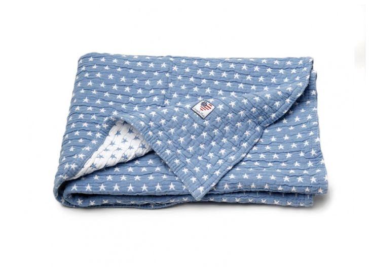 Lexington American Sailor Bedspread, blått - Bonti