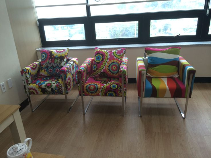 French Bull patterned chairs!!