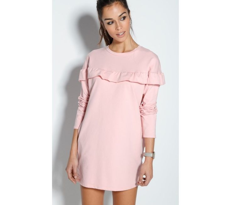Krátke pastelové volánové šaty | modino.sk #ModinoSK #modino_sk #modino_style #style #fashion #dress