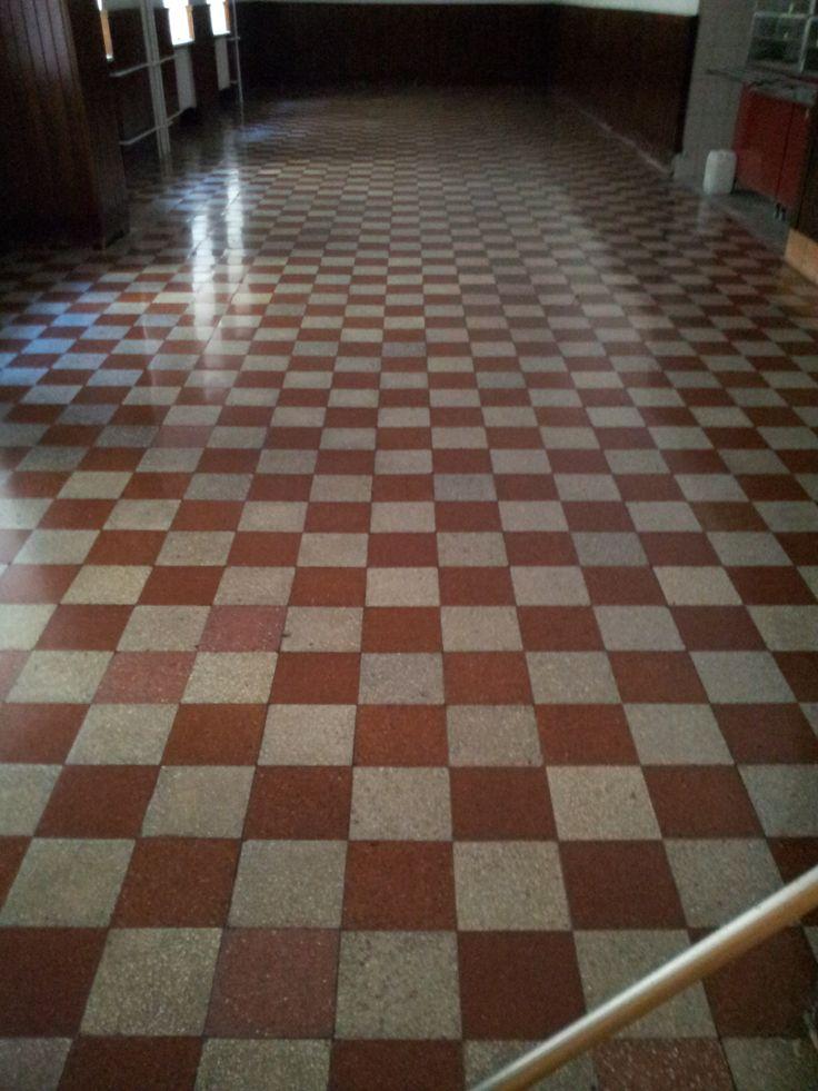 cement tile floor resurfacing