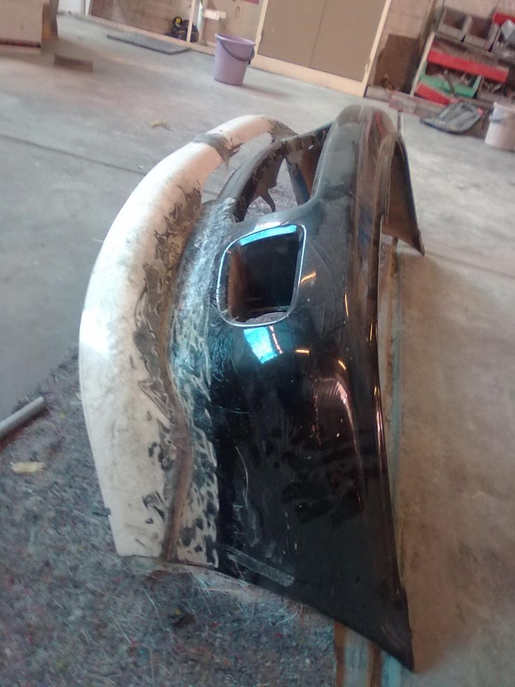 front bumper fabrication