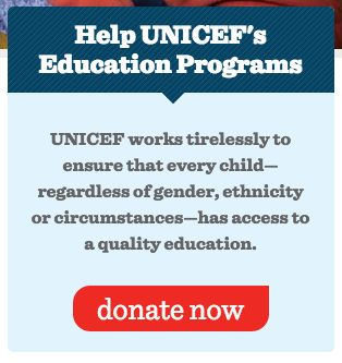 http://www.unicefusa.org/ - CTA scattered around the site