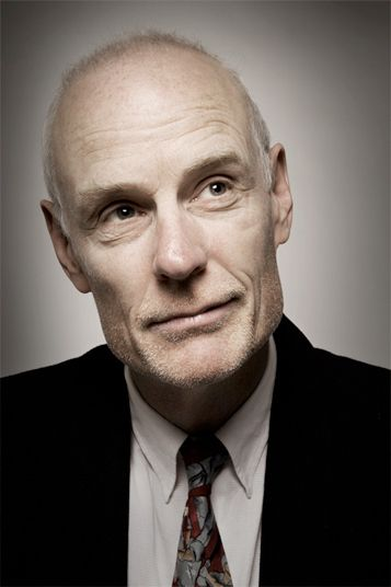 Matt Frewer.  Could be play Barr McNamary fairly well.  Has a lot of vocal range, yet very restrained, which is the key.