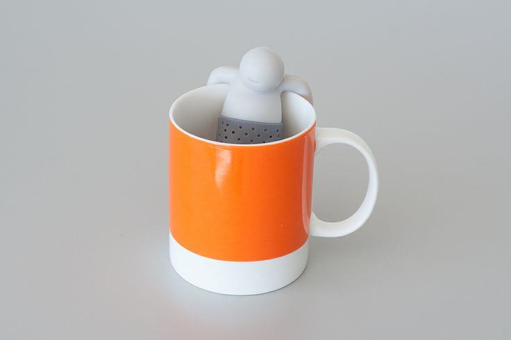 "Mister Tea Infuser by Fred & Friends just ""toss some tea in his trousers""Teas Infused, Fred Friends, Mister Teas, Museums Stores, Glorious Design, Fun Things, Tea Infuser"