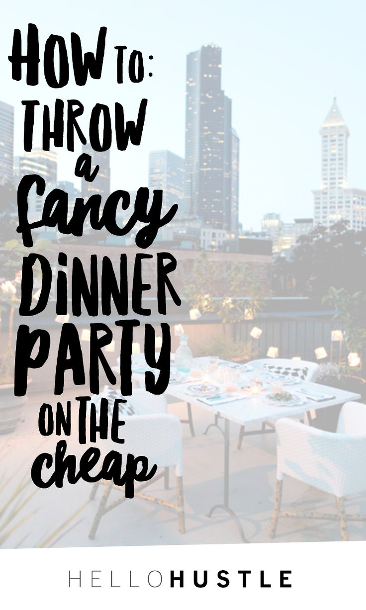 24 best Throw The Ultimate Holiday Dinner Party images on Pinterest ...