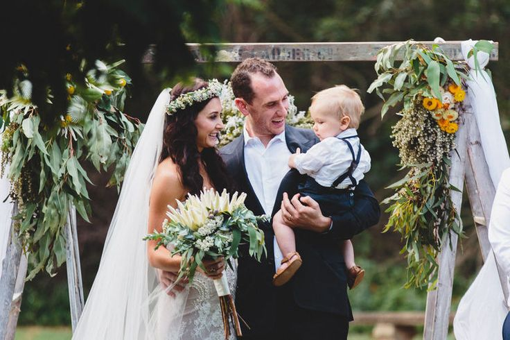 Beauty rich and rare: Native Australian bridal bouquets