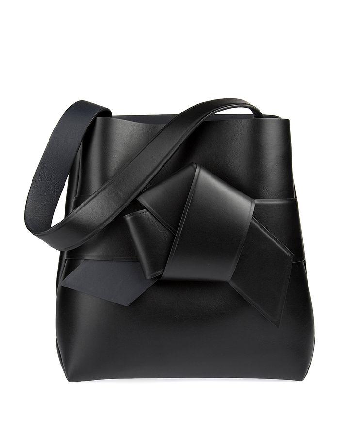 Acne Studios Musubi Shopper Black Handväskor/Portföljer | Märkeskläder på Zoovillage.com