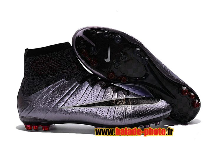 2016 Chaussures de football Nike Mercurial Superfly AG Urban Lilac Black 5830