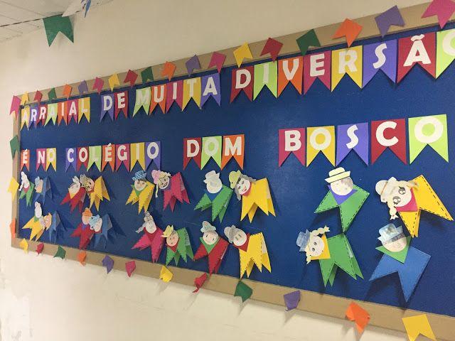 Pedagógiccos: Mural de Festa Junina
