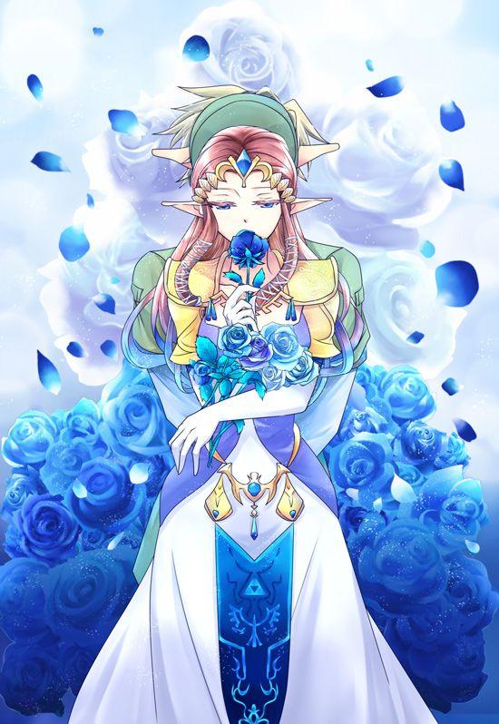 Link and Princess Zelda fan art | #LOZ