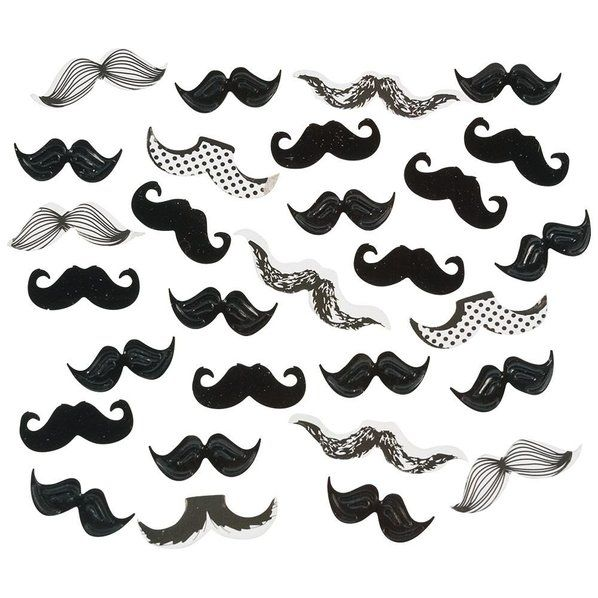 Check out Mustache Paper Confetti - Party Supplies at Wholesale Prices from…