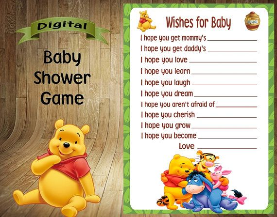 Lovely Winnie the Pooh Bingo Winnie the Pooh Baby by DigitalDelites