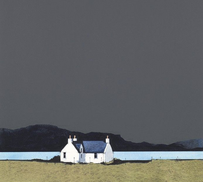 Ron Lawson, Staffin, Isle of Skye. Signed Limited Edition Print | Scottish Contemporary Art