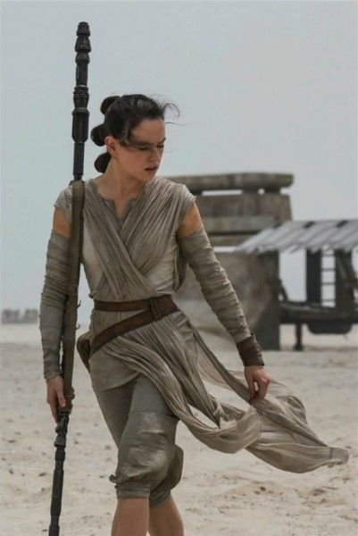 Daisy Ridley from Star Wars: The Force Awakens