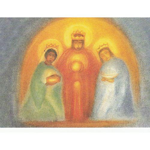 Ansichtkaart Drie koningen (Ruth Elsasser)