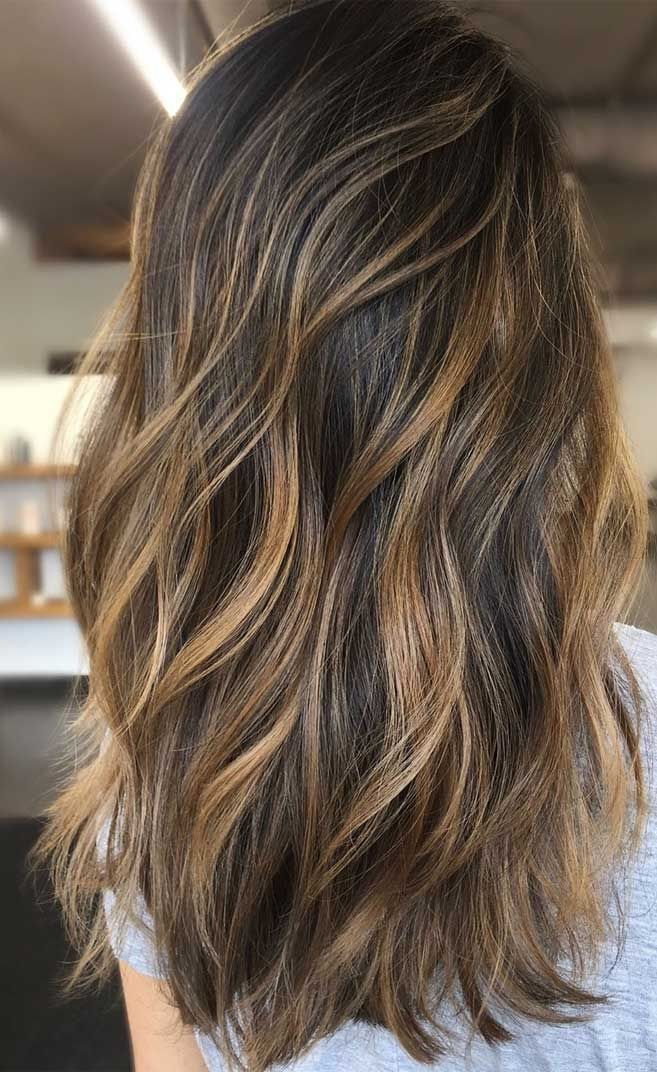 49 Beautiful Light Brown Hair Color To Try For A New Look Golden Highlights Brown Hair Brown Hair Balayage Brown Hair With Caramel Highlights