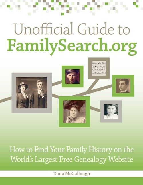 Unofficial Guide to FamilySearch.org book | ShopFamilyTree | ShopFamilyTree