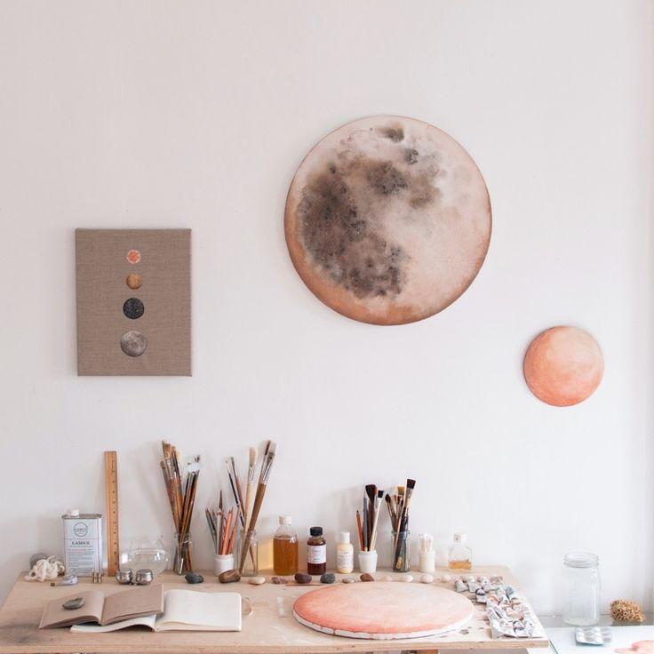 Afternoon in the studio | Artist Stella Maria Baer