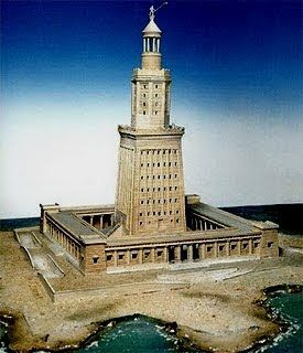 FARÓIS - SENTINELAS DO MAR: FAROL DE ALEXANDRIA - Alexandria, Egipto