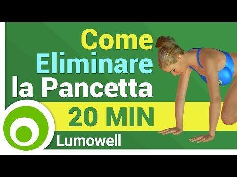 Esercizi per Dimagrire la Pancia Velocemente. Allenamento Brucia Grassi per Eliminare la Pancetta - YouTube