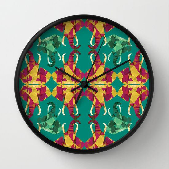 Elephants! http://society6.com/product/elephants-7ir_wall-clock#33=283&34=286