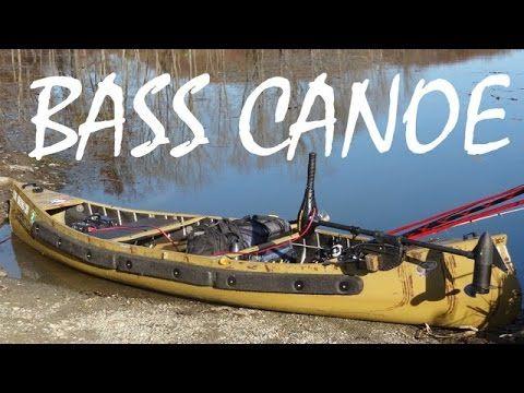 The BEST fishing canoe - YouTube