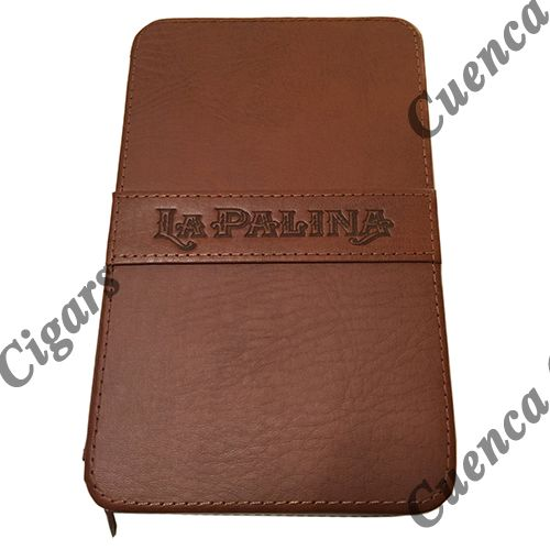 Shop Now La Palina Leather Cigar Travel Case - Tan Holds 4 Cigars | Cuenca Cigars  Sales Price:  $119.5