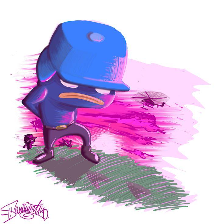 #biondo #character #illustration #digital #painting #umberto #sammartino