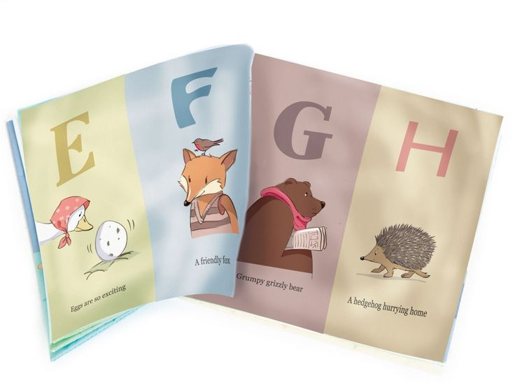 A-Z Cloth Book | Ragtales | The 3 Cheeky Monkeys