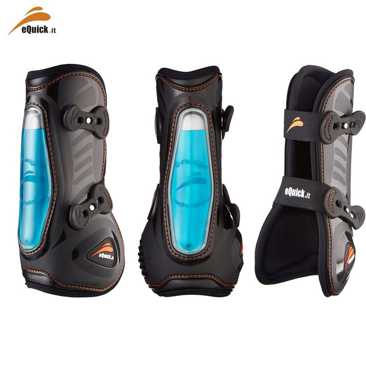 10 Must-Have Products for Show Jumpers - Equick eShock Tendon Boots - https://www.equiport.co.uk/blog/article/10-musthave-products-for-show-jumpers/
